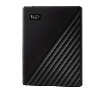 Western Digital 1 TB Portable Hard Disk Drive (HDD), WDBYVG0010BBK Black