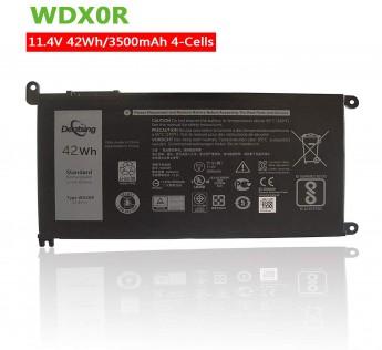 Dentsing 42Wh WDX0R Laptop Battery for DELL Inspiron 15 5568 7560 5567/13 7368 Series/Inspiron 13 5378 14-7460 / Dell Inspiron 17-5770 Inspiron 13 5379 Inspiron 15 7570 WDXOR