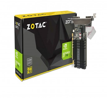 ZOTAC Graphics Card GeForce GT 710 2GB DDR3 Zone Edition Graphics Card with GeForce Experience