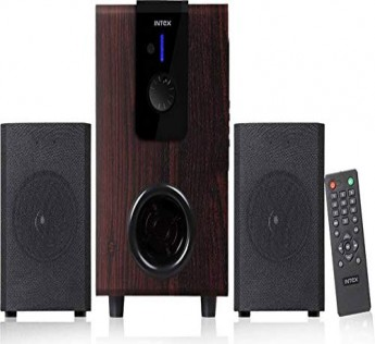 Intex 2.1 XV Choral TUFB 36W Home Audio Speaker (Brown, 2.1 Channel)