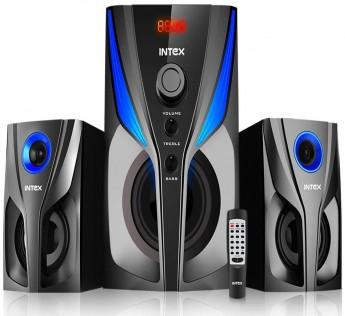 Intex 2.1 XV Jazz SUFB Speaker 2.1 Channel Multimedia Speaker with USB/SD/FM/BT/AUX
