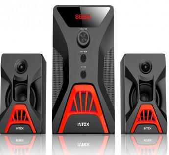 Intex 2.1 XV Rock SUFB Multimedia Speaker with USB/SD/FM/BT/AUX