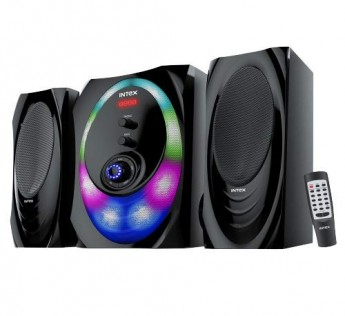 Intex 2.1 XH 3000 SUFB Channel Multimedia Speaker with USB/SD/FM/BT/AUX.