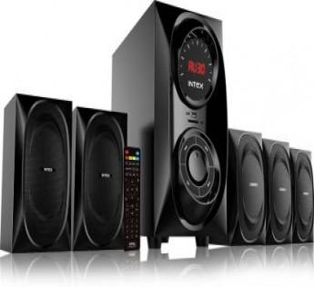 Intex IT 6040 SUFB 40 W Bluetooth Home Theatre  (Black, 5.1 Channel)