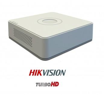 Hikvision HD Series DS-7A04HQHI-K1 1080P 2MP 4 Channel Mini Turbo DVR (White)