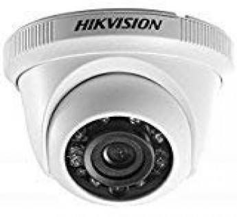 HikVision Camera Night Vision Dome Camera DS 2CE5ACOT IRP\ECO 1MP CMOS IR Night Vision Dome Camera (White)