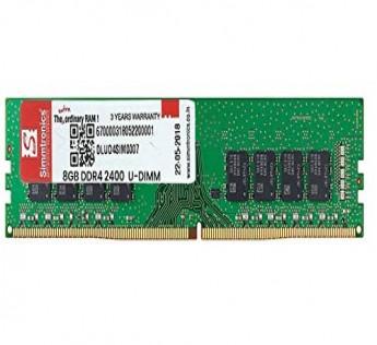 Simmtronics 8GB 2400MHz DDR4 SDRAM for Desktop/PC