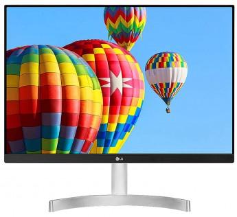 LG 24 inch Full HD LED Backlit IPS VGA HDMI Frameless White