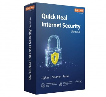 Quick Heal Internet Security - 3 PCs, 1 Year (DVD)