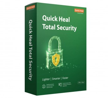 Quick Heal Total Security - 3PC, 1 Year