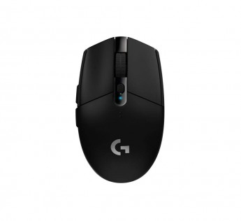 Logitech G304 Mouse Lightspeed Wireless Gaming Mouse, Hero Sensor, 12,000 DPI, Lightweight, 6 Programmable Buttons, 250h Battery Life, On-Board Memory, Compatible with PC/Mac Black