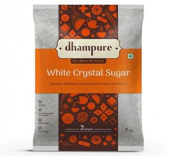 Dhampure White Crystal Sugar 1kg