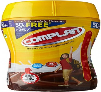 Complan Health Drink Chocolate, Jar, 450 g