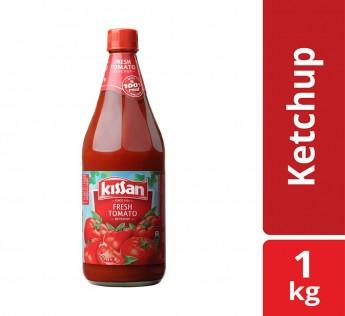 Kissan Fresh Tomato Ketchup Bottle, 1kg