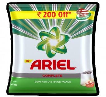 Ariel Complete Detergent Powder 4kg Ariel Detergent Powder