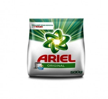 Ariel Detergent Powder 500gm Ariel Detergent Powder Complete