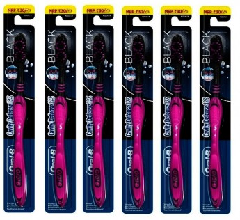 Oral B Toothbrush Cavity Defense Black Colour 6N Oral B Toothbrush