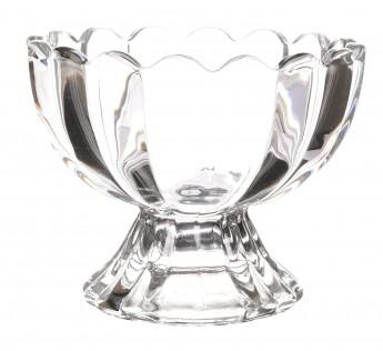 Soogo Crystal Ice Cream Cup Set, 130 ml, 6-Piece, Transparent