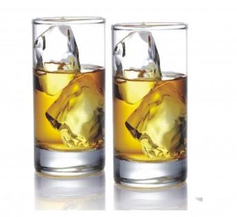 Sanjeev Kapoor Cuba Juice Tumbler, 280 ml, Set of 6, Transparent