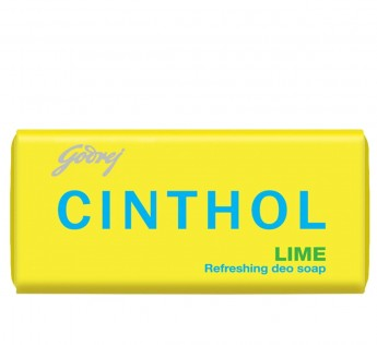 Cinthol Lime Soap, 100g (Pack of 9)