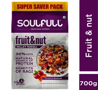 Soulfill Fruit & Nut Muesli 700 g