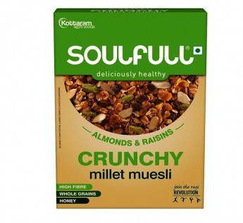 Soulfill Chocofill Muesli Crunchy 400gm Soulfill Chocofill Muesli Crunchy