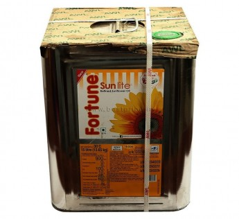 Fortune Oil Sunflower Oil Tin 15 Litre