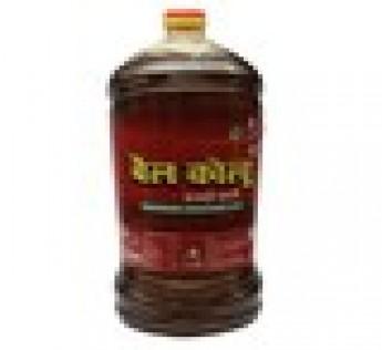 Bail Kolhu Mutard Oil Jar, 5 L