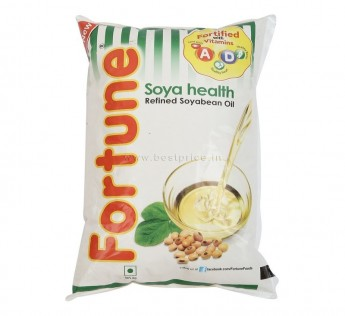 Fortune Soya Oil Pouch, 1 L