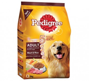 Pedigree Adult Dry Dog Food Meat and Rice 10kg Pedigree Adult Dry Dog Food Meat Rice