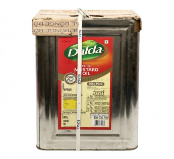 Dalda Filtered Mustard Oil Tin 15 kg