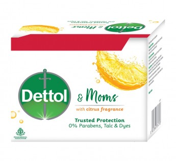 Dettol Citrus Soap (3 + 1) N (75 g Each)