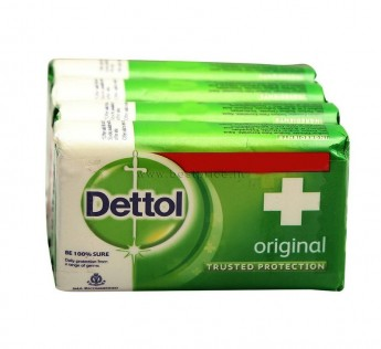 Dettol Original Soap 4 N (75 g Each)