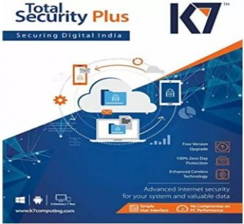 K7 Total Security 1.0 User 1 Year  (CD/DVD)