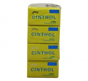 Cinthol Lime Soap 12 N (55 g Each)