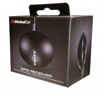 Globalsat Biometric Device USB GPS Receiver (Black)