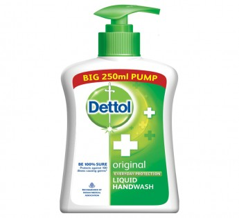 Dettol Original Handwash Pump 250ml Dettol Handwash Liquid Pump