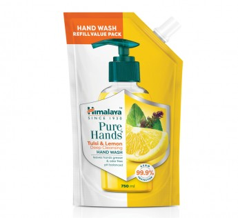 Himalaya Tulsi & Lemon Handwash 750ml Himalaya Tulsi Handwash