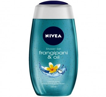 Nivea Bodywash Frangipani Oil 250ml Nivea Bodywash Oil