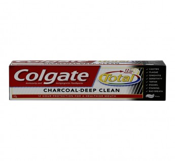 Colgate Toothpaste Total Charcoal 120 gm Colgate Toothpaste