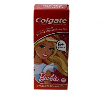 Colgate Kids Toothpaste Barbie Red 80 gm Kids Toothpaste