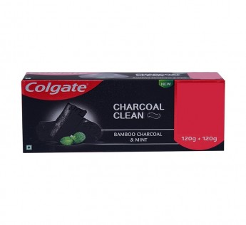 Colgate Total Charcoal Deep CleanTooth Paste 240gm Colgate Charcoal