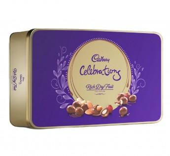 Cadbury Celebrations Rich Dry Fruit Chocolate Gift Box 177gm Cadbury Celebrations Dry Fruit Chocolate