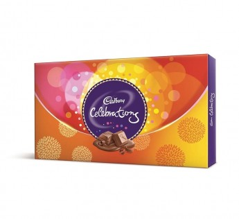Cadbury Celebration Assorted Chocolates Gift Pack 147gm Cadbury Celebration Chocolates