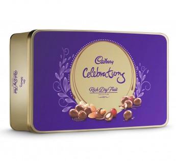 Cadbury Celebrations Rich Dry Fruit Chocolate Gift Box 177gm Cadbury Celebrations Chocolate Gift Pack 286.3gm