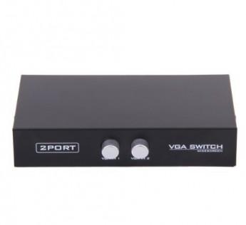 Technotech 2 Port VGA Monitor Switch Manual