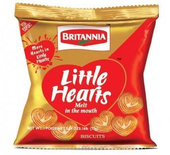 Britannia Little Heart Biscuits 75 g
