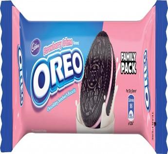 Cadbury Oreo Strawberry Creme Biscuit 120 g
