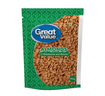 Great Value Almonds 500 g