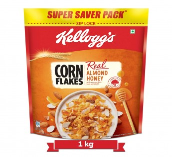 Kellogg's Honey & Almond Cornflakes 1 kg
